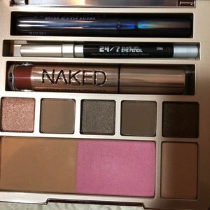 Naked urban Decay on the run palette